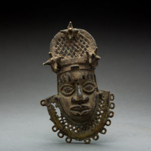 Benin Brass Hip Ornament 1