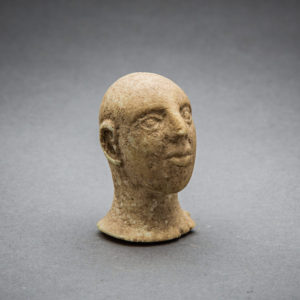 Bactria-Margiana Stone Head from an Idol 1