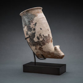 Terracotta Rhyton with Zoomorphic Spout 1