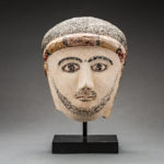 Roman Period Stucco Funerary Mask of a Man 1