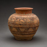 Indus Valley Terracotta Vessel Decorated with Zoomorphic and Geometric Designs 1