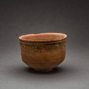 Painted Terracotta Bowl 1