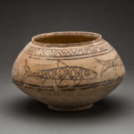 Indus Valley Terracotta Bowl with Fish Motif 1