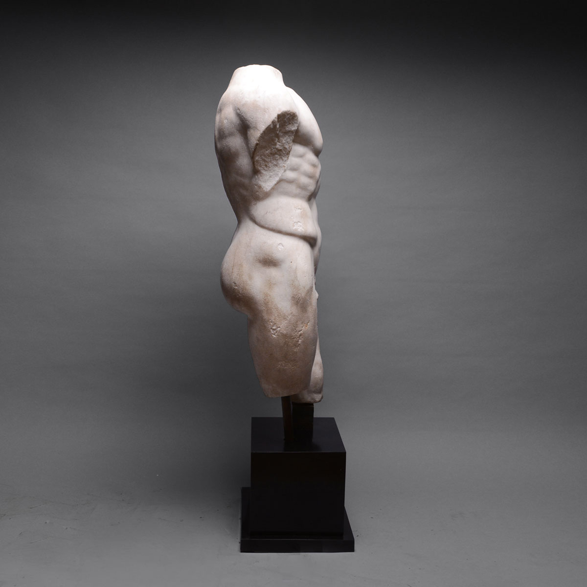 Roman Marble Torso of a Nude Male - Barakat Gallery Store